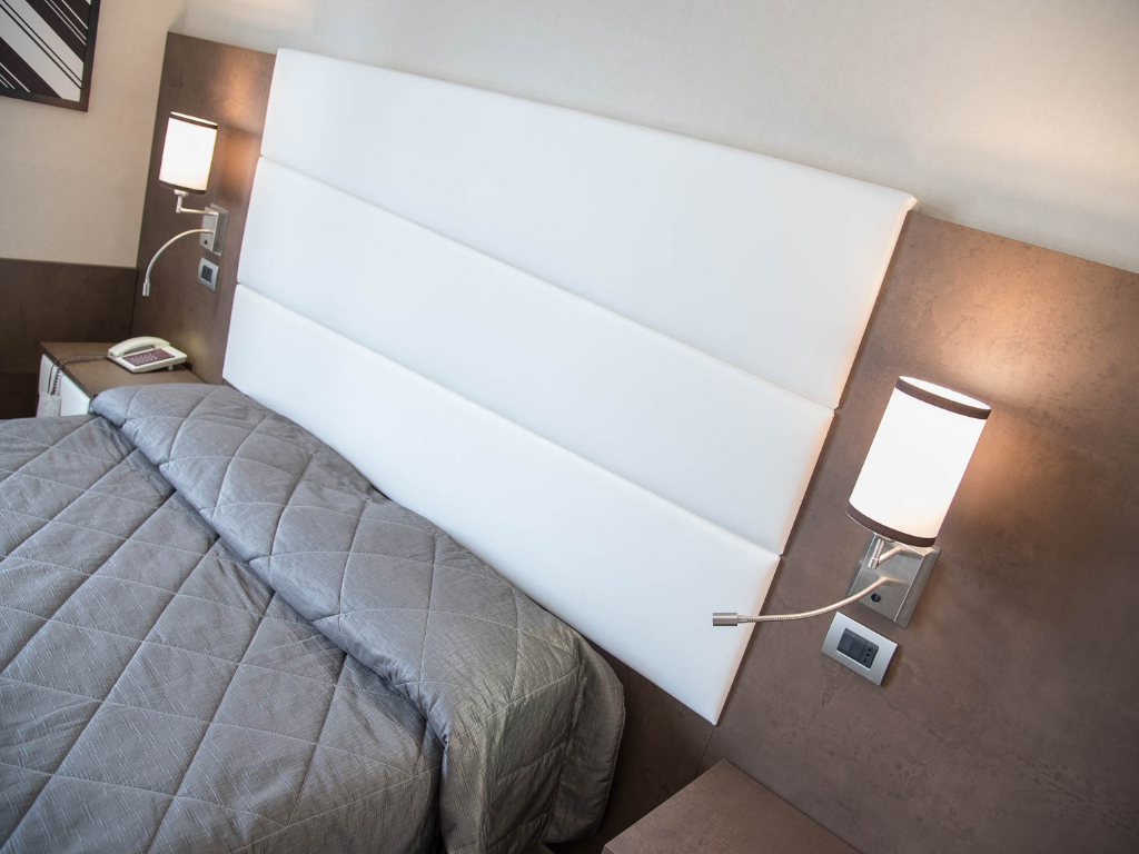 reginna palace hotels rooms have been furnished by oxid bronze fin twist laminated poplar plywood it is a modern surface in order to stylish furnish